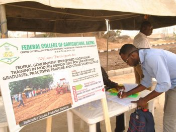 Federal College of Agriculture Akure vocational training lists
